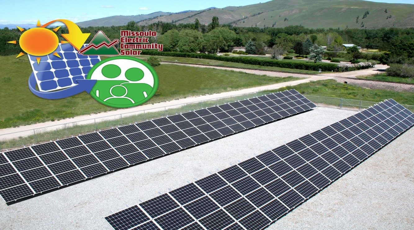 Solar Array by Missoula Electric Cooperative