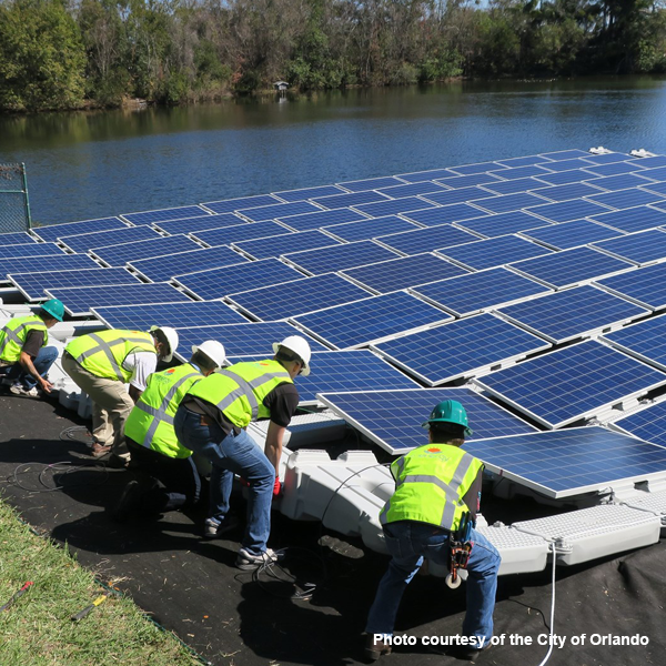 Orlando Utilities Commission Floating Solar